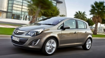 Special Offer for Car Rental Opel Corsa