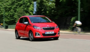 Special Offer for Car Rental Peugeot 108