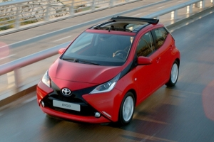 Special Offer for Car Rental Toyota AYGO