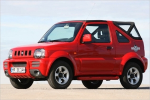 Special Offer for Car Rental Suzuki Jimny 4Χ4